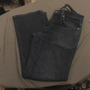 Men's lightly worn 7 for all mankind jeans.